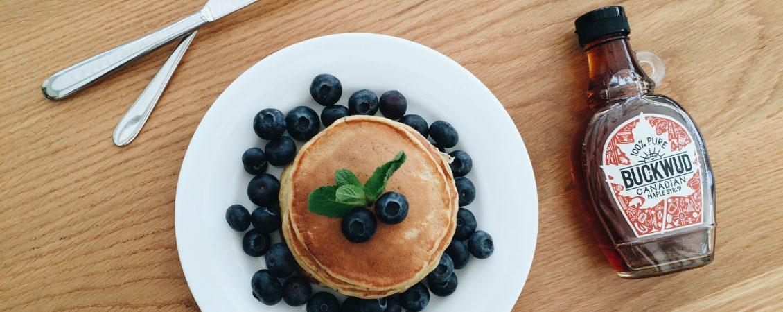 Lemon Poppy Seed Yoghurt Pancakes